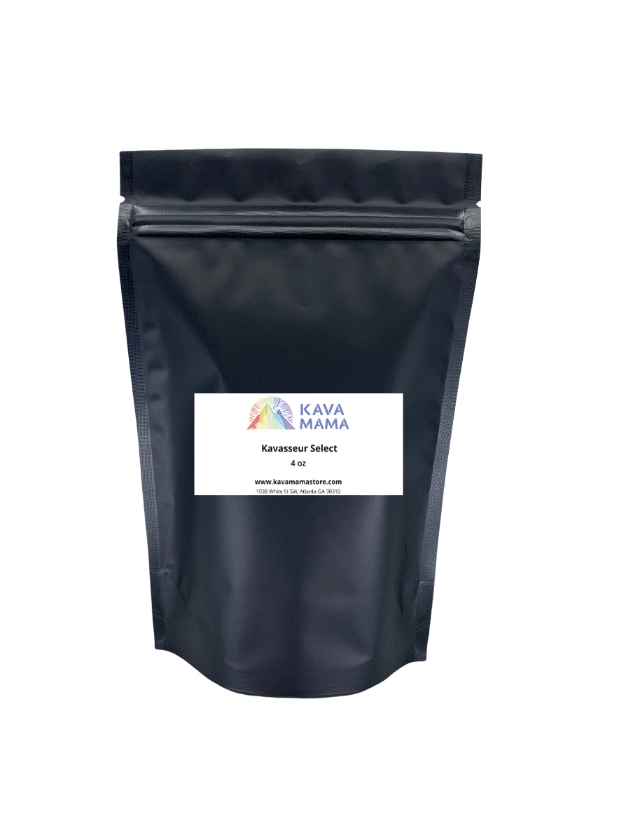 Kavasseur Select Fijian Waka Powder in 4oz, 8oz & 16oz (kava straining bag required)