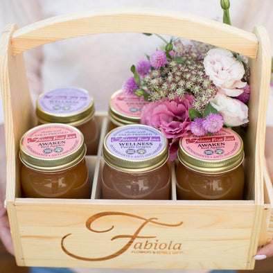 Edible gift basket Los Angeles