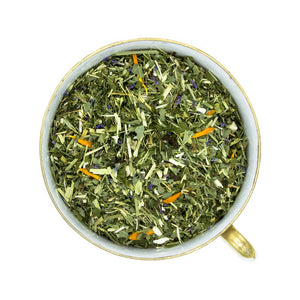 Organic Be Well Tea Blend in Teacup