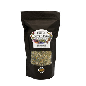 Organic Chamomile Dried Herbs in Bag