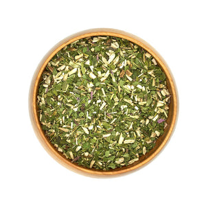 Organic Dried Echinacea Herbs in Bowl