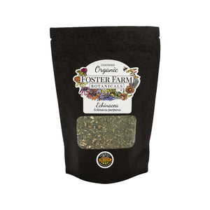 Organic Echinacea Dried Herbs in Bag