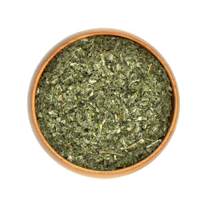 Organic Dried Horehound Herbs in Bowl