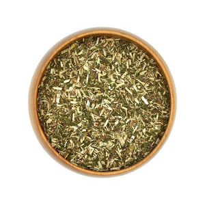 Organic Dried Meadowsweet Herbs in Bowl