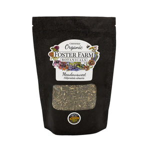 Organic Meadowsweet Dried Herbs in Bag