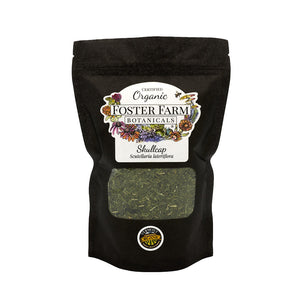 Organic Skullcap Dried Herbs in Bag