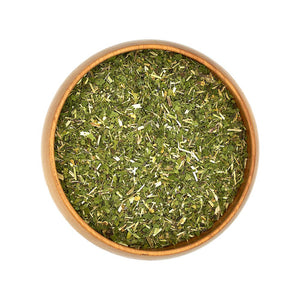 Organic Dried Stinging Nettle Herbs in Bowl