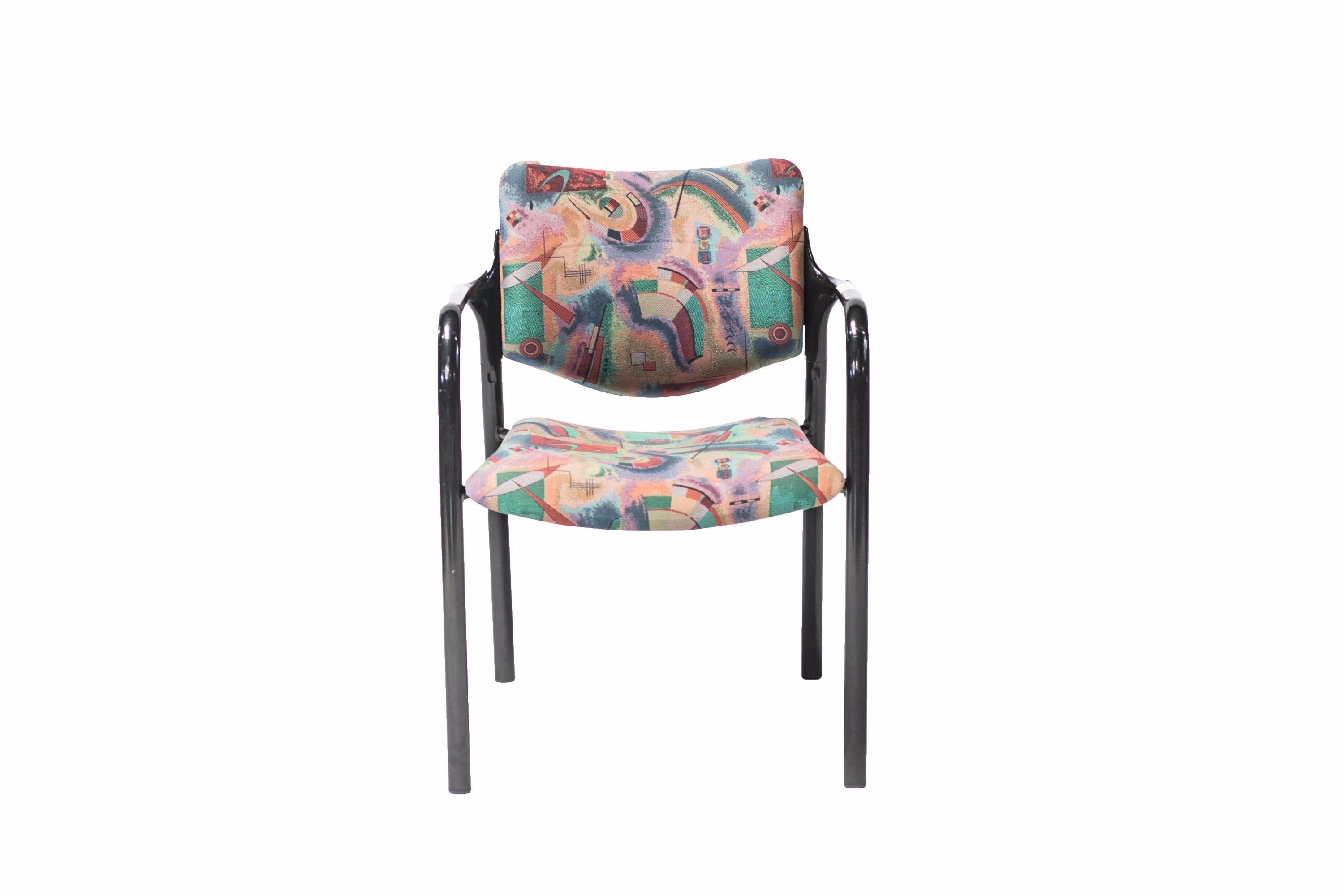 Herman Miller Colorful Stacking Chairs