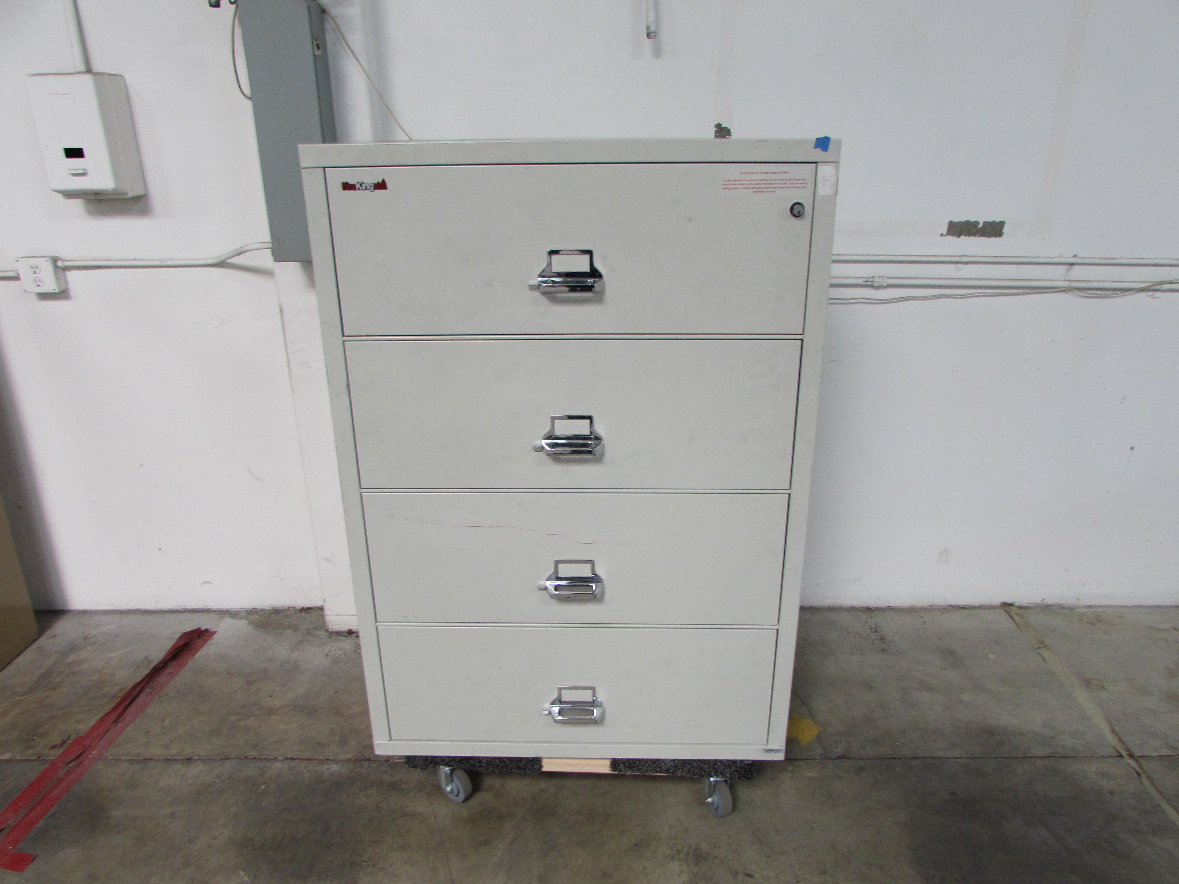 Beau Fireking 4 Drawer Fireproof Lateral File