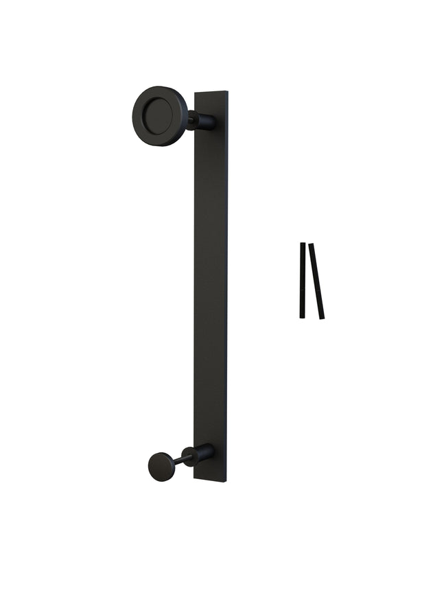 Black Sliding Barn Door Handle BH9 I Australia Barn Door Expert