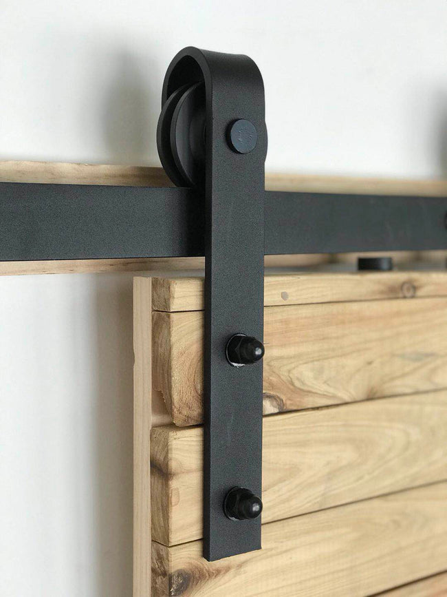 Black Sliding Barn Door Hardware BB02 I Australia Barn Door Expert
