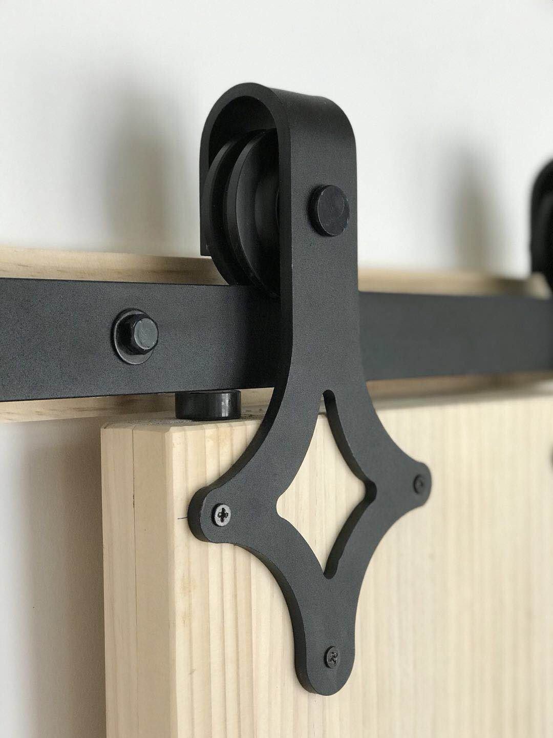 Black Sliding Barn Door Hardware BB06 I Australia Barn Door Expert