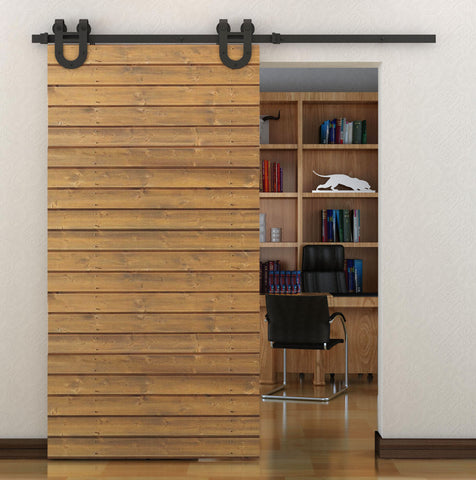 Black Sliding Barn Door Hardware BB04 I Australia Barn Door Expert
