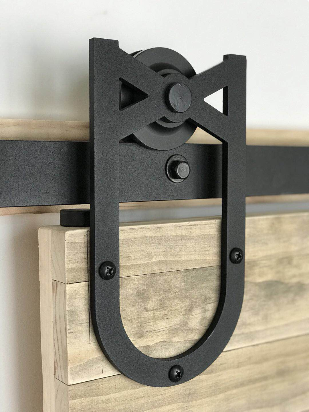 Black Sliding Barn Door Hardware BB08 I Australia Barn Door Expert