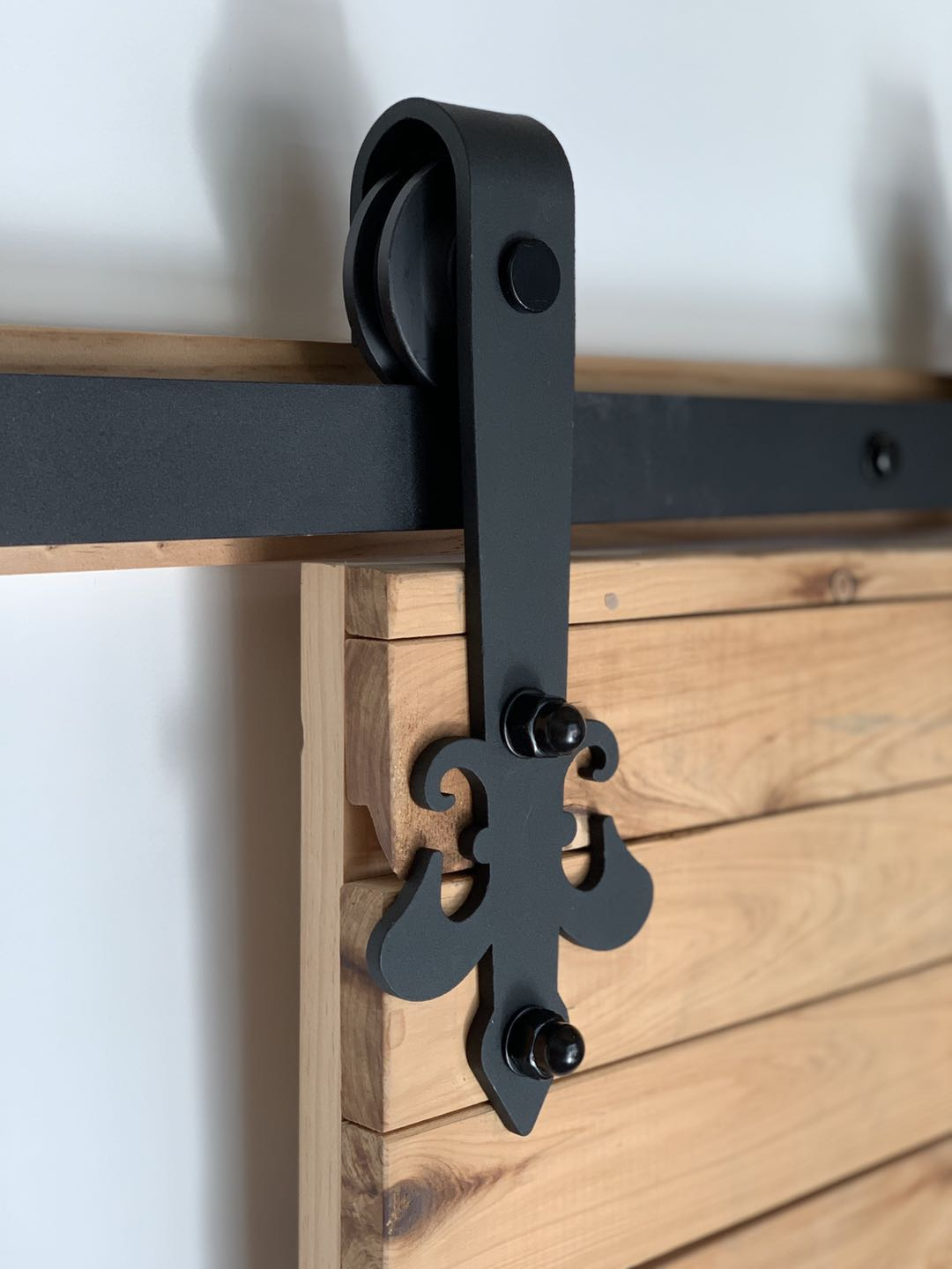 Black Sliding Barn Door Hardware BB14I Australia Barn Door Expert