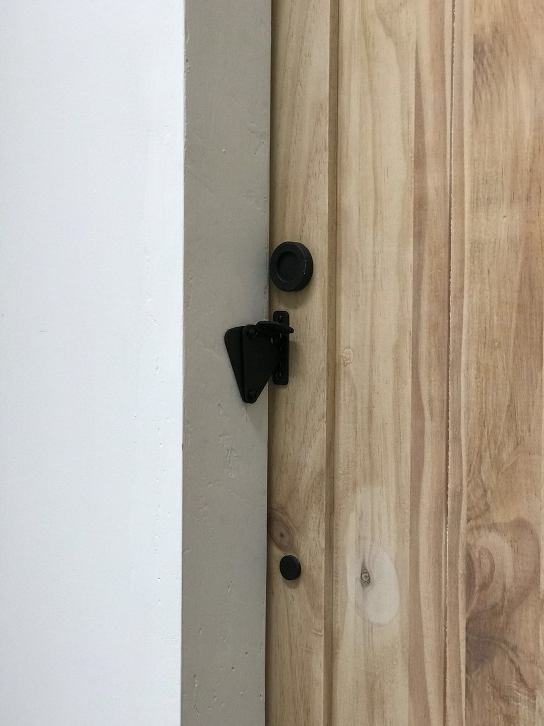Black Sliding Barn Door Privacy Lock | Australia Barn Door Expert