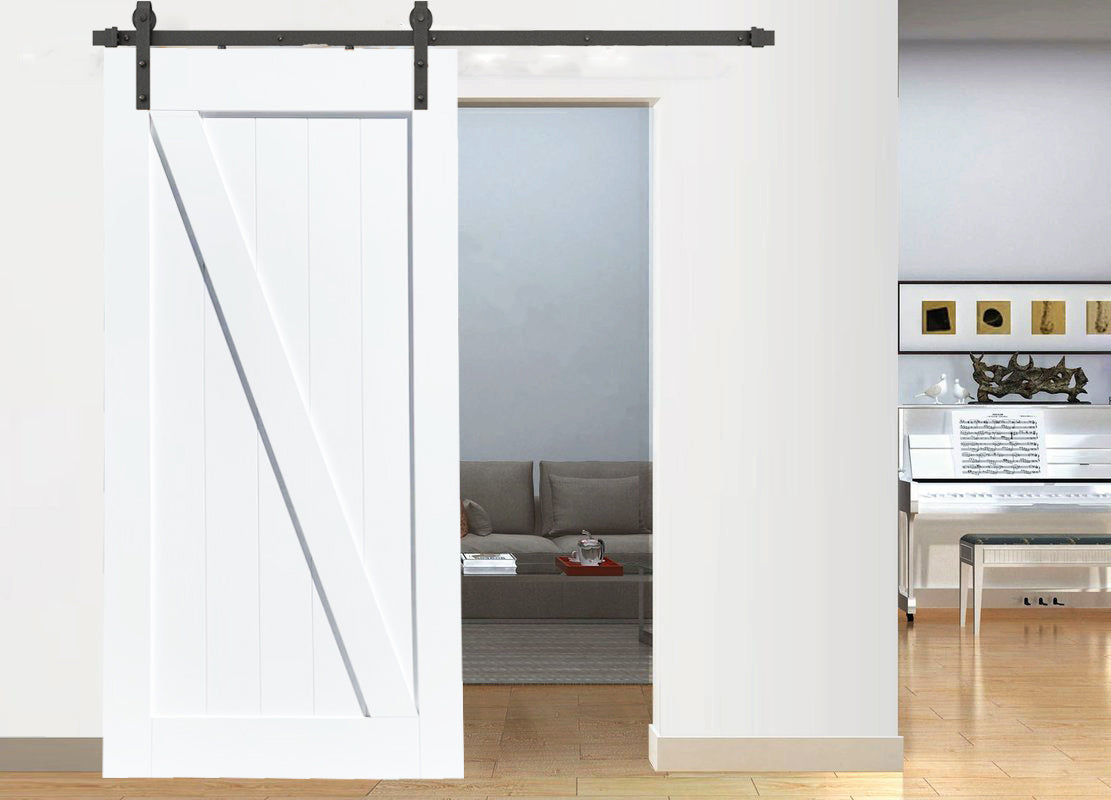 Z-Brace Whit Barn Door D03W | Buy Internal Doors | Melbourne Barn Door Expert