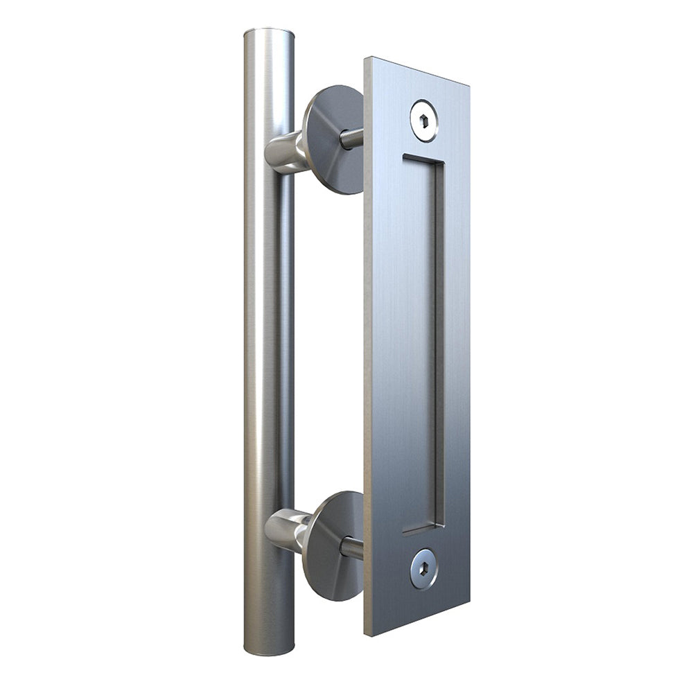 Stainless Steel Sliding Barn Door Handle SH11 I Australia Barn Door Expert