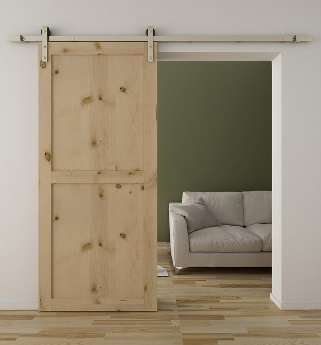 Stainless Steel Sliding Barn Door Hardware SS01 I Australia Barn Door Expert