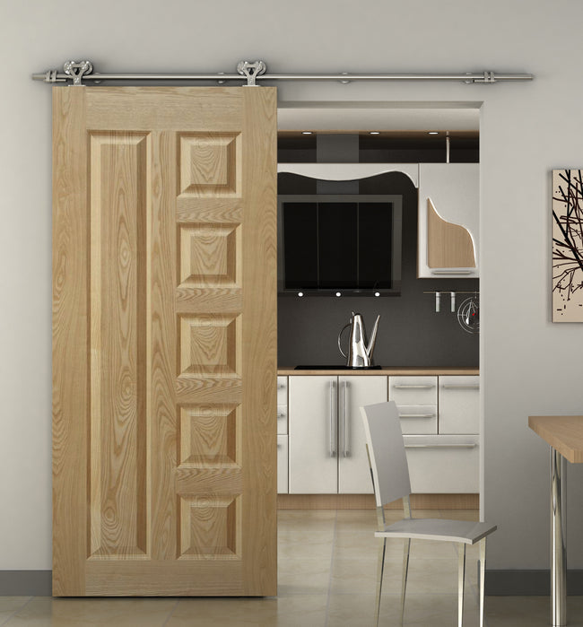 Stainless Steel Sliding Barn Door Hardware SS05 I Australia Barn Door Expert