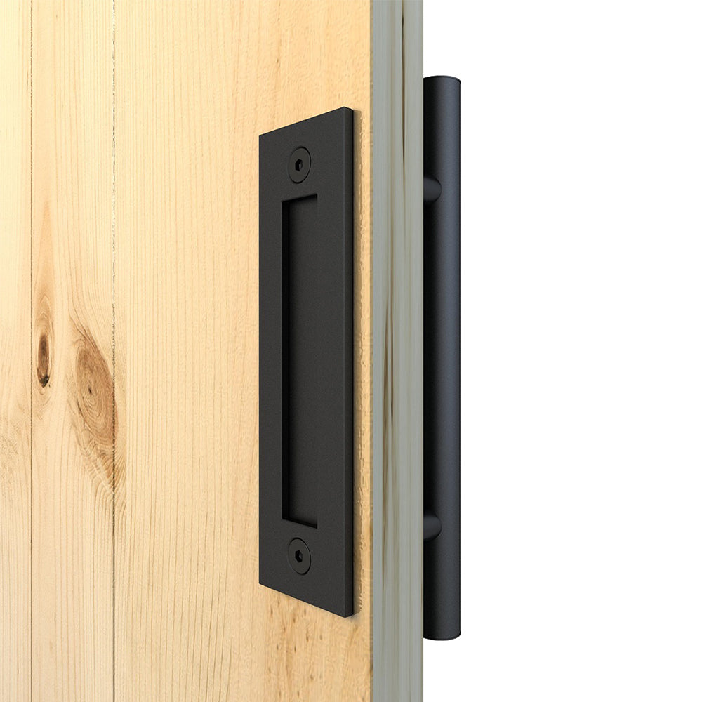 Black Sliding Barn Door Handle Bh11 I Australia Barn Door
