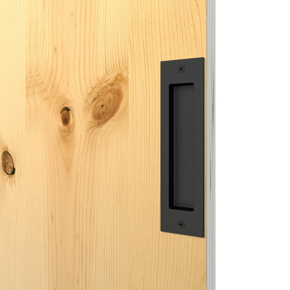 Black Sliding Barn Door Handle BH2 I Australia Barn Door Expert