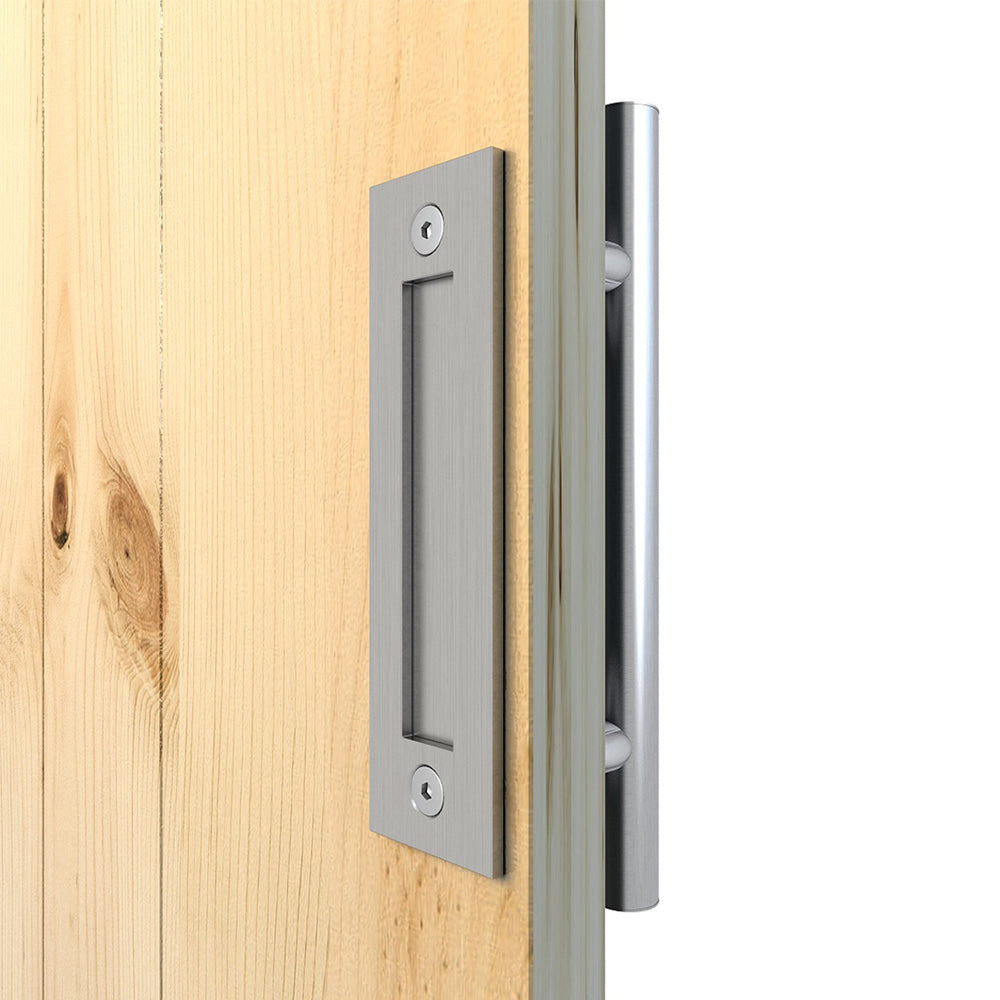 Stainless Steel Sliding Barn Door Bypass Bracket