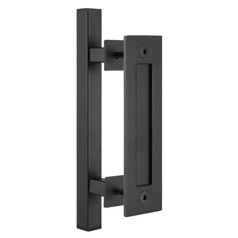 Black Sliding Barn Door Handle BH4 I Australia Barn Door Expert