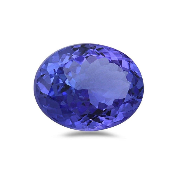 1.40cts 8x6mm Oval Natural Tanzanite Loose Gemstone