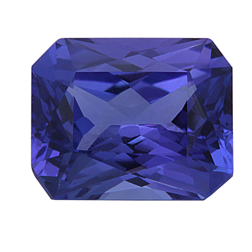 cut loose tanzanite cushion blue gemstone certificate egl itm carat
