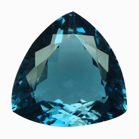 Click to view Trillion shape London Blue Topaz loose Gemstones variation