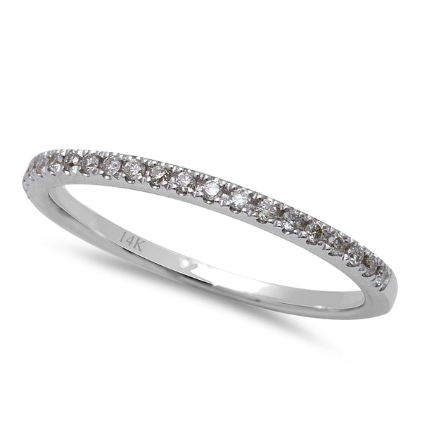 .13ct Round Diamond Pave Set Diamond Wedding Anniversary Band Size 6.5