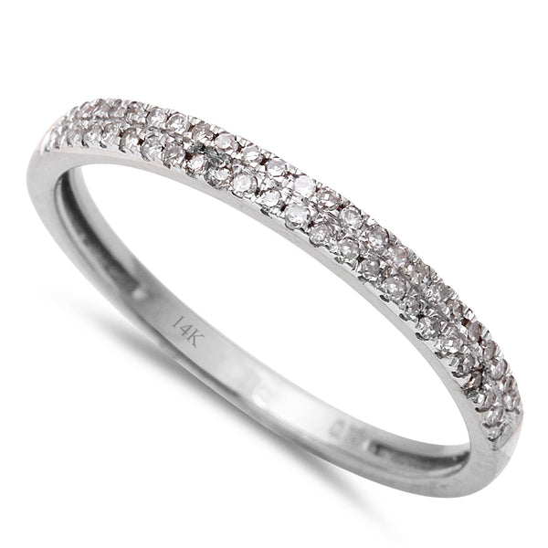 .15CT Round Diamond Pave Set Diamond Wedding Anniversary Band Size 6.5