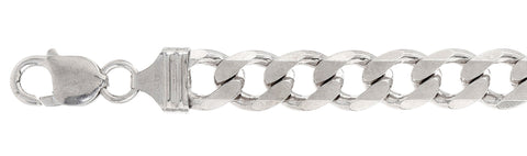 350-13MM Flat Curb Chain Made in Italy Available in 8
