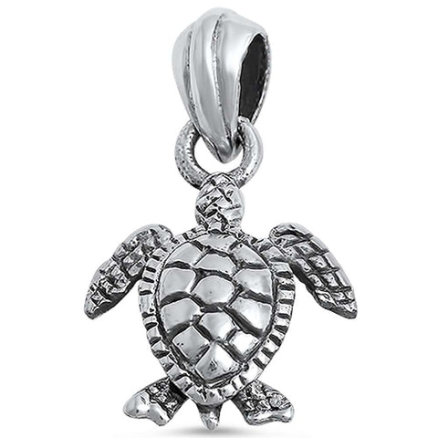 Turtle .925 Sterling Silver Pendant