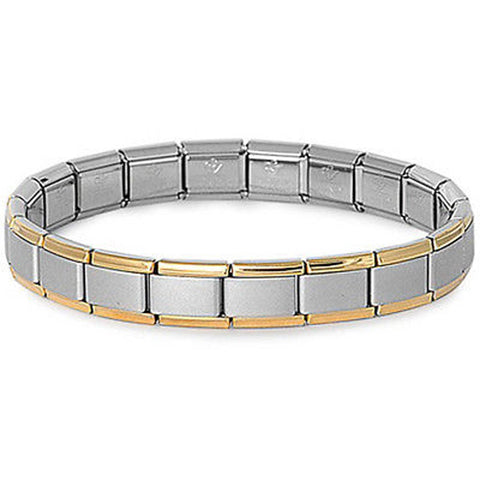 quality bracelet high and leather genuine stainless product steel