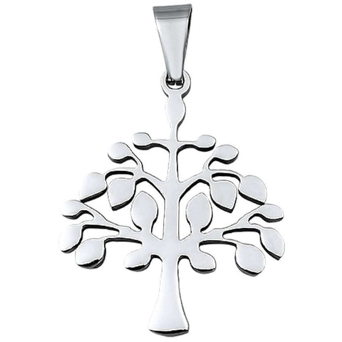 Tree Of Life Stainless Steel Pendant