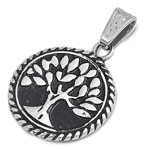 Tree of Life 316 Stainless Steel Pendant Necklace
