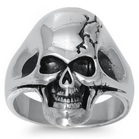 The Skull Stainless Steel Ring  Sizes 8-14