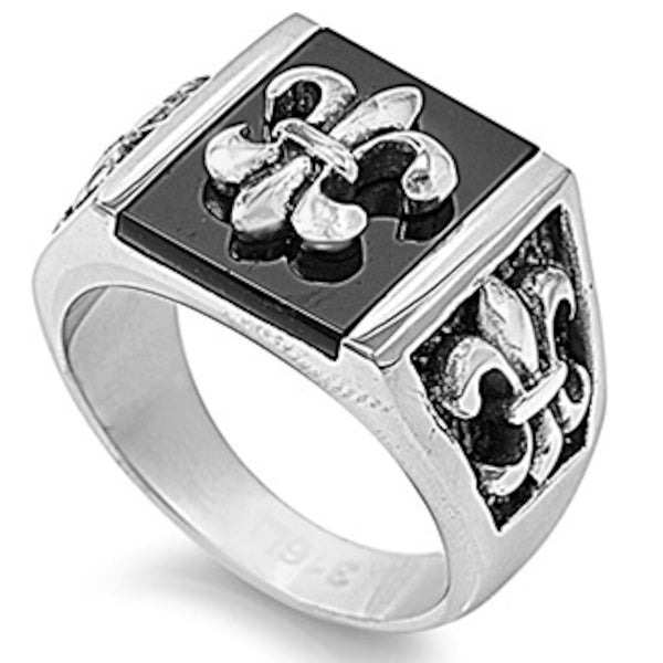Royal Design Stainless Steel Ring Size 9-14