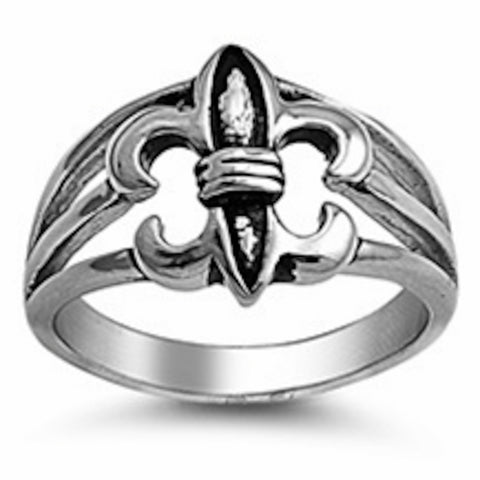 Huge Royal Sign Stainless Steel Ring Size 8-14