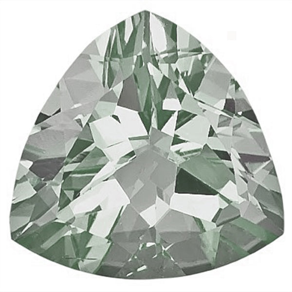 Click to view Trillion shape Green Amethyst loose Gemstones variation