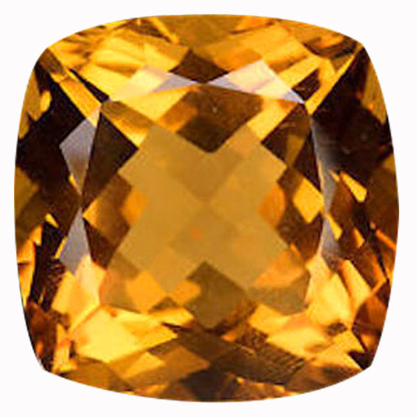 Click to view Square Cushion Cut Citrine loose Gemstones variation