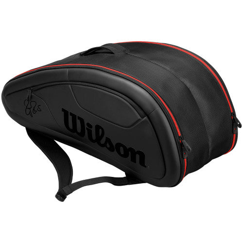 Wilson - Federer DNA Collection 12 Pack Bag Black