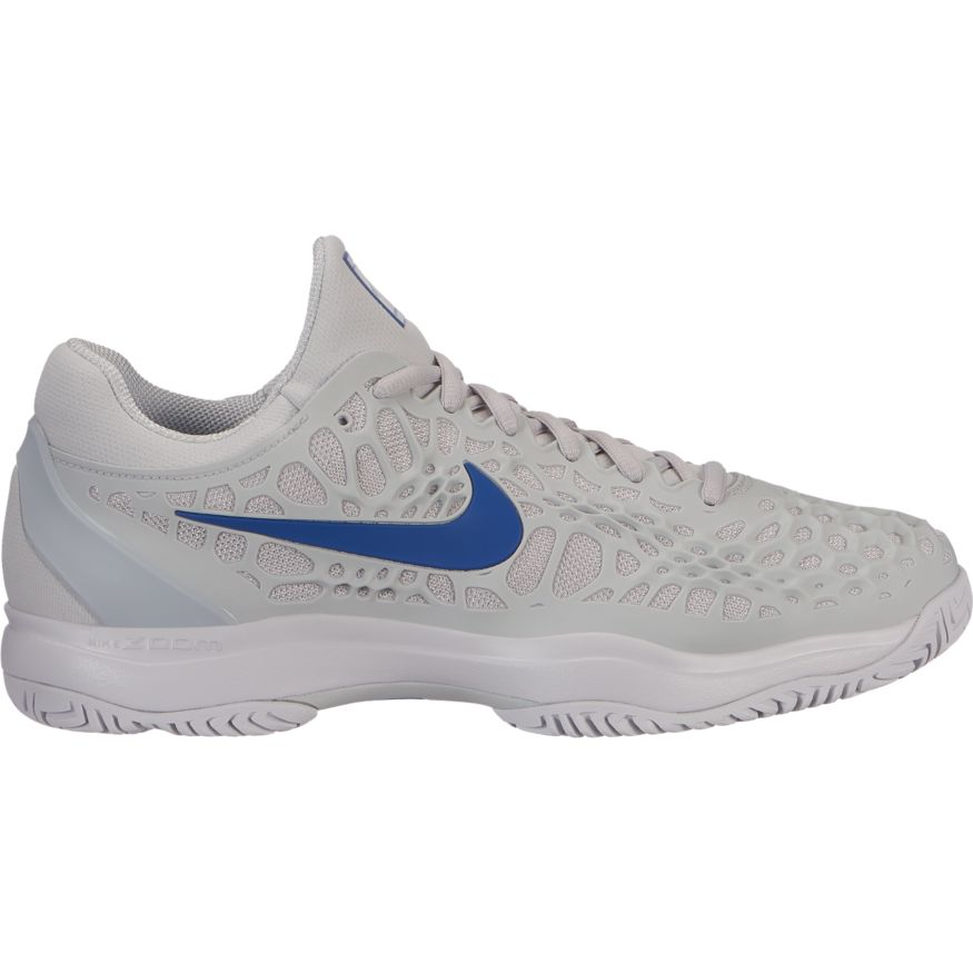 674e3589f84f4 Nike - Air Zoom Cage 3 - Grey Indigo Force - Win Well Tennis