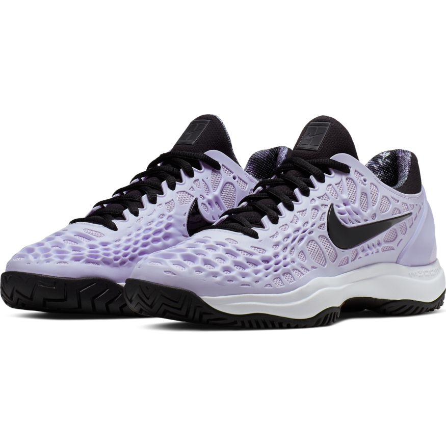 new lifestyle exclusive deals authentic quality Nike - Women's Air Zoom Cage 3 HC Purple/Black-White - Win Well Tennis