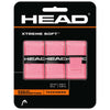 Head  Xtreme Soft Pink Overgrip 3 Pack - Win Well Tennis