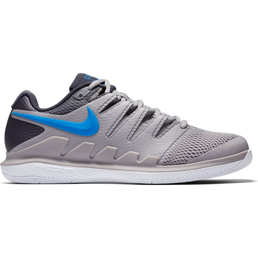 559527aacf10 Nike Air Zoom Vapor X HC Atmosphere Grey Photo Blue - Win Well Tennis