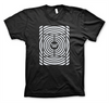 Win Well- Hypnotic Court Tee Black - Win Well Tennis