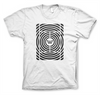 Win Well- Hypnotic Court Tee White - Win Well Tennis
